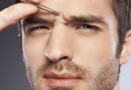 Tweezing and plucking are temporary ways to remove unibrow hair
