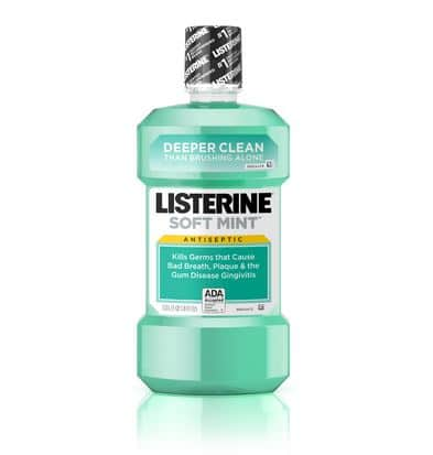 Listerine mouth wash