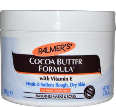 Cocoa butter remedies for stretch marks